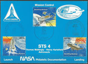 STS-4 NASA Philatelic documentation card