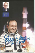 Sojus 28 autogramcard orig signed by Wladimir Remik 17.05.2008