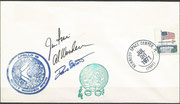 Launch cover Apollo 15, KSC cachet ca.3750 items issued, orig. signed by complete crew