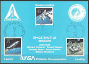 STS-41 NASA Philatelic documentation card
