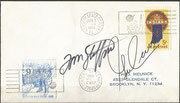 Gemini 9, launch cover dated 03.06.1966 orig.signed by crew Thomas Staffort and Eugene Cernan, KSC cachet isseud 14630 items