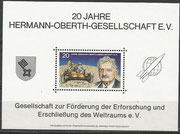 Germany, official vignette block of HOG, proposal of HOG to Deutsche Post for realizing as a stamp, but have not been realized
