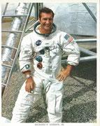 NASA Litho autopen signed by Gordon