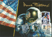 VIP card, orig. sigend by Alan Bean