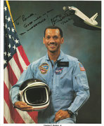 NASA Litho orig. signed by Charles Bolden jr.