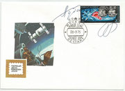 CCCP,Sojus 17 FDC orig.signed by Gubarjew and Gretschko with 4343