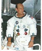 NASA Litho orig. signed by Conrad