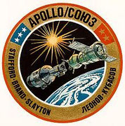 Mission patch ASTP mission