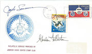 Space Shuttle STS 3 launch Houston ( Flight 3, Columbia ) orig, signed by crew ( Jack Lousma and Gordon Fullerton )