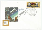 CCCP,Sojus 13 FDC orig.signed by Klimuk and Lebedew with 4218