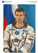 Nasa Litho Sergei Krikaljow , orig signed by Sergei Krikaljow