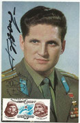 CCCP, Sojus 21 orig. signed autogramcard by  Vitaly Zholobov with 4515