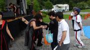 釜石鈴子公園:演奏後