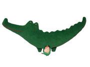 Cocodrilo Hippybottomus Suisse pañales de tela juguetes pedagógicos