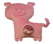 Schwein Hippybottomus Suisse Stoffwindeln Pädagogische Spielzeuge