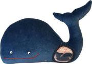 Ballena Hippybottomus Suisse pañales de tela juguetes pedagógicos
