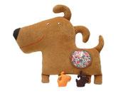 Perro Hippybottomus Suisse pañales de tela juguetes pedagógicos