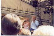 """Judith und Mel auf dem """"Tag der Niedersachsen"""" in Ho,zminden"""