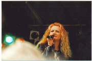 Nicole auf dem Eulenfest in Einbeck