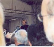 """Im Hintergrund G.G. Anderson auf dem """"Tag der Niedersachsen"""" in Holzminden"""
