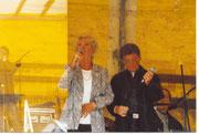 Nina und Mike auf dem Karoffelbratfest in Eschershausen