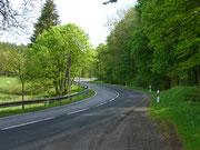 Straße im Harz