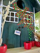 Houten Nestkastje, Nestkastje met Potten, Details, Vogelhuisje bouwen ,  vogelhuisje met potten_13