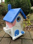 Houten Nestkastje , Grieks Nestkastje met Balkon , Details, Vogelhuisje bouwen ,  Grieks vogelhuisje met balkon , Huisjes details_3