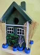 Houten Nestkastje, Nestkastje met Potten, Details, Vogelhuisje bouwen ,  vogelhuisje met potten_9
