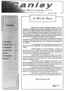 N°1 - janvier 1996