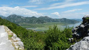 am Skutari-See