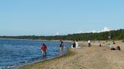 Tentative de baignade avortée en mer Baltique