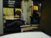 Atelier écriture dans le wagon 3ème classe