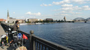 Arrivée a Riga