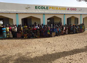 School in Oro/Mali