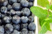 Blaubeer-Mojito