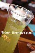 Grüner Zitronen-Eistee