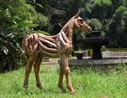 Abdul Ghofur für Driftwood Art größeres Fohlen