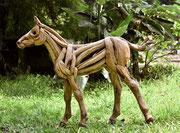 Abdul Ghofur für Driftwood Art kleines Fohlen