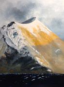 Northern light, 2016, huile sur toile, 80 x 110 cm Sfr. 2'200.-