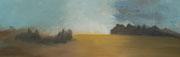 Vivre le silence - acryl sur toile 40 x 120 cm - 2013