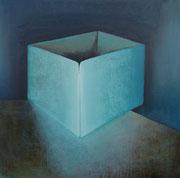 le cube - acryl sur toile 85 x 85 cm - 2013   Sfr. 3'000.-