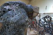 Julie la pie voleuse - 2011 - 160 x 180 x 160 cm / Sfr. 25'000.-