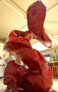 Louisa the swinging tuba - 2013 - 205 X 140 x 150 cm