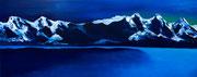 Clair de lune, 2016, huile sur toile, 50 x 125 cm Sfr. 1'600.-