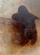 penché - acryl sur toile 120 x 90 cm - 2013   Sfr. 3'500.-