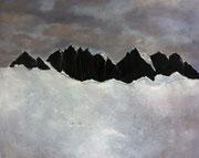 Tranquility, 2015,  huile sur toile, 100 x 80 cm  Sfr. 2'000.-