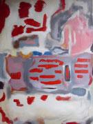 Öl auf Leinwand, 90 x 70 cm, nach Rothko