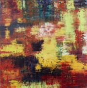 Öl auf Leinwand, 115 x 110 cm