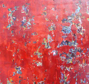 Öl auf Leinwand, 80 x 80 cm